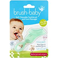 Brush-Baby Chewable Toothbrush (Teal) - ukpricecomparsion.eu