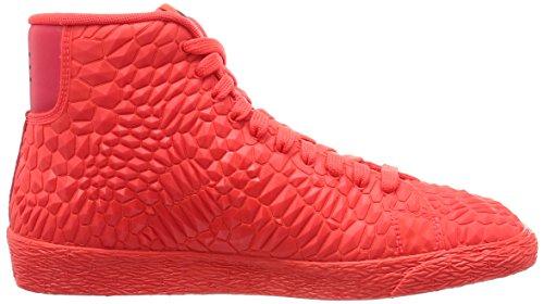 Naranja Rosso Mid Donna W brght Crmsn Crmsn brght Scarpe Ginnastica Nike Blazer Brght Da Dmb RWqT8