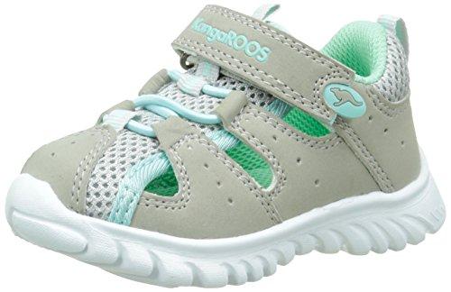 "KangaROOS Unisex Babys ""Rock Lite Walking Schuhe, Grau - Grey (Lt Grey/Lt Turquoise 248) - Größe: 30 EU Kinder (30)"