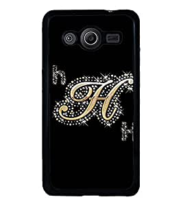 Fuson Designer Back Case Cover for Samsung Galaxy Core 2 G355H :: Samsung Galaxy Core Ii :: Samsung Galaxy Core 2 Dual (Gold Heera Manik Moti H h)