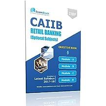 CAIIB Exam Study Material for Retail Banking -Hardcopy (1 Book)
