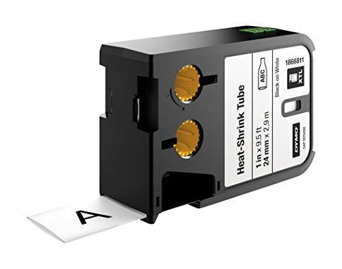 DYMO 1868811 Black on white label-making tape - label-making tapes (Black on white, Black, Thermal Transfer, Polyolefin, Belgium, MIL-M-81531, MIL-STD-202G, SAE-DTL- 23053/5 (Class 1/3))