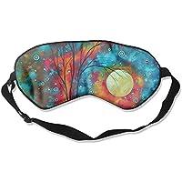 Sleep Eye Mask Colorful Paintings Lightweight Soft Blindfold Adjustable Head Strap Eyeshade Travel Eyepatch preisvergleich bei billige-tabletten.eu