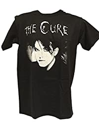 Blue Bagal Mens The Cure Robert Smith Face T Shirt in Black