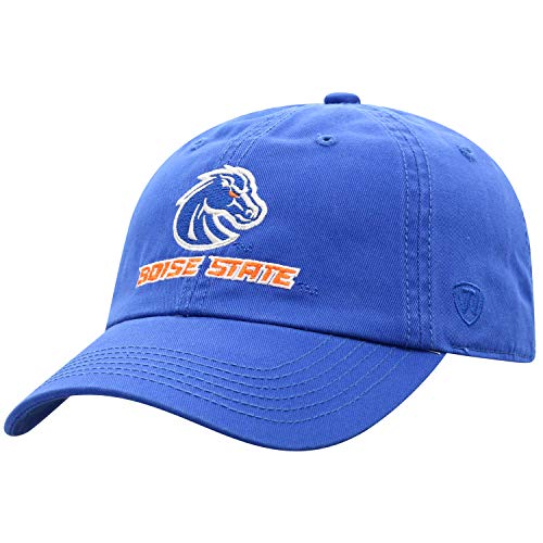 Boise State University Apparel (Top of the World Herren Mütze NCAA verstellbar Relaxed Fit Team Icon, Herren, NCAA Men's Adjustable Hat Relaxed Fit Team Icon, königsblau, Einstellbar)