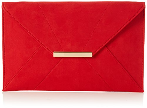 n Envelope Clutch Umhängetasche, Rot (Red), 30x20x1 centimeters (Dorothys Rote Schuhe)
