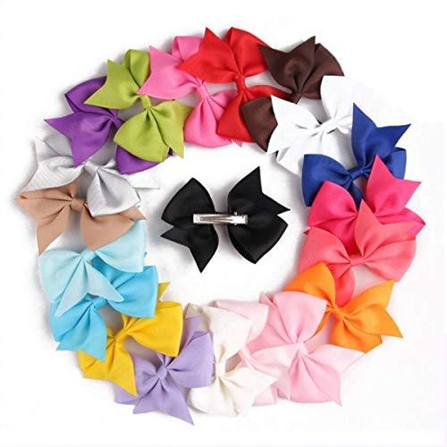 Neue erstaunliche niedliche Bogenhaarspangen für Kinder, Jugendliche und Erwachsene in verschiedenen Farben (NEU) (Auf Pin Schwanz Das Der Baby)