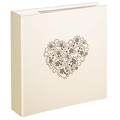 Hama anzio, album portafoto, 10 x 15 cm, 100 pagine, carta, beige (beige)