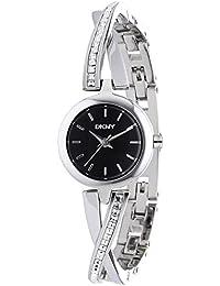 DKNY Damen-Armbanduhr XS Analog Quarz Edelstahl NY2174