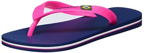 Ipanema CLAS Brasil II Fem, Infradito Donna, Mehrfarbig (Blue/Pink-8011), 39/40 EU