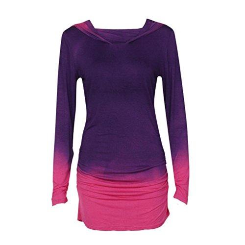xinantime-women-hoodies-long-sleeve-dip-dye-sweatshirts-m-purple