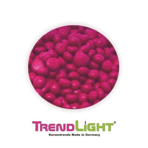 TrendLight 890173 Wachsfarbe 1 kg Wachs, Qualitätsfarbe zum Kerzen einfärben für Paraffin, Stearin, Kerzengel und Kompositionswachs, pink