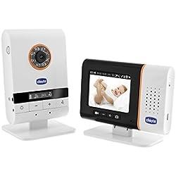 Chicco Top Digital - Baby monitor de video USB con cámara de video, fotos y mp3
