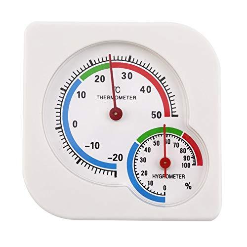 tyughjytu Mini-Luftfeuchtigkeit für draußen, Luftfeuchtigkeit bis Temperatur -