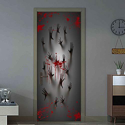Halloween Deko, Wanddekoration Scary Zombie Hände -