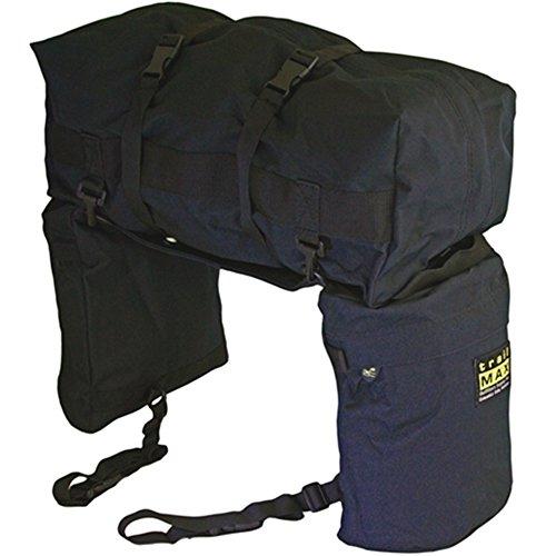 trailMAX Junior Saddlebags, Satteltasche Western Packtasche, schwarz