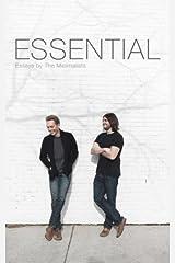 Minimalism: Essential Essays Taschenbuch