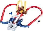 Hot Wheels MarioKart Trucks Chaos Bowser, pista para coches de juguete para niños y niñas +5 años (Mattel GNM2