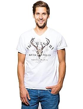 Krüger BUAM T-Shirt Jagdaufsicht - Weiß