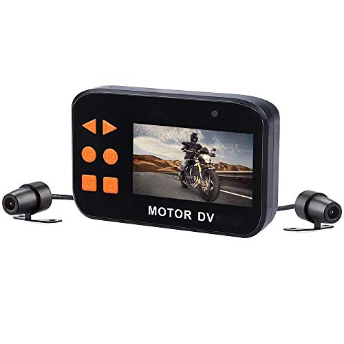 YYANG FYN 1080P Motorrad-Aufnahmekamera Dual Lens Video Driving Recorder Kamera Nachtsicht 2 7 Zoll LCD-Bildschirm 130 Grad Winkel