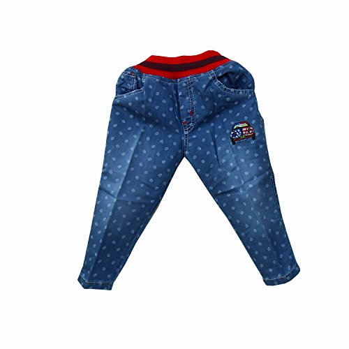 NammaBaby Full Length Denim Jeans With Elasticated Waist Band (3-4 years)  available at amazon for Rs.569