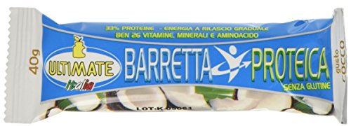 Ultimate Italia BARRECOC Barretta Proteica - 24 Pezzi - 41zvmbsaXcL