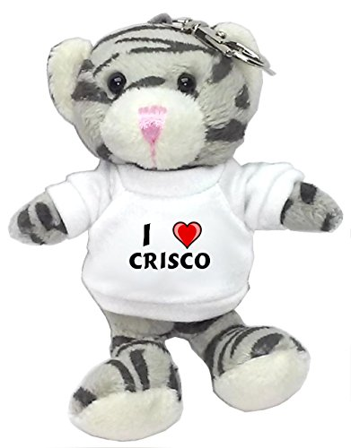 gray-cat-plush-keychain-with-i-love-crisco-first-name-surname-nickname
