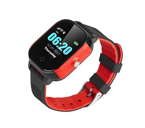 Kinder Smartwatch Telefon und GPS GPRS Tracker | gratis EE SIM Karte | f. Ree UK basierend App Bestie digitalkabeln Lieferung vor Weihnachten Wenn bestellt von 22. Dezember