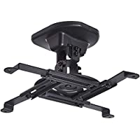 AmazonBasics Tilting Projector Bracket Mount for Ceiling and Wall  33lbs Capacity  Black