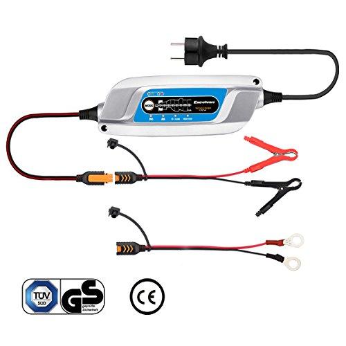 Excelvan Chargeur/Mainteneur de Batterie à 6-Étapes 5A 12V pour Véhicule/Voiture/Moto/Tondeuse/Batterie AGM et Gel