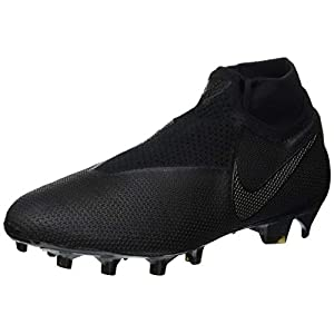 Nike Phantom Vsn Elite DF FG, Zapatillas de Fútbol Unisex Adulto, Negro Black 001, 41 EU