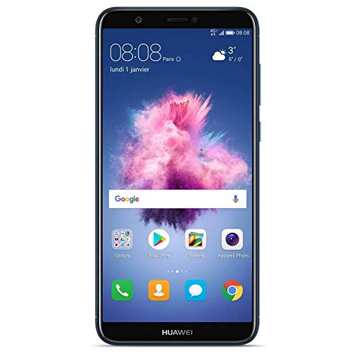 Huawei P Smart Smartphone, Marchio Tim, 32 GB, Blu