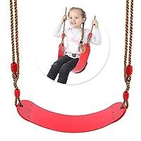 Mainstayae Children Indoor Outdoor Swing Seat Kids Safety Backyard Playground Swing Seat