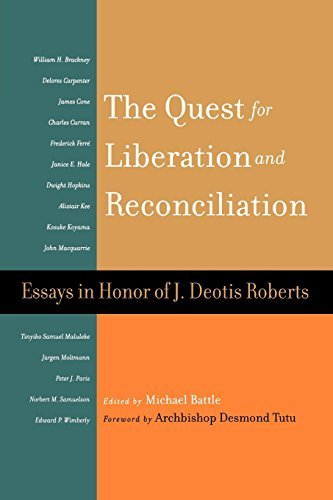 The Quest for Liberation and Reconciliation: Essays in Honor of J. Deotis Roberts by Westminster John Knox Press (2005-04-05)
