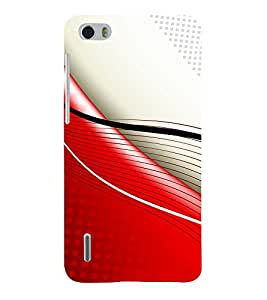 Fiobs Designer Back Case Cover for Huawei Honor 6 Plus (Design Patterns Beautiful Shapes)