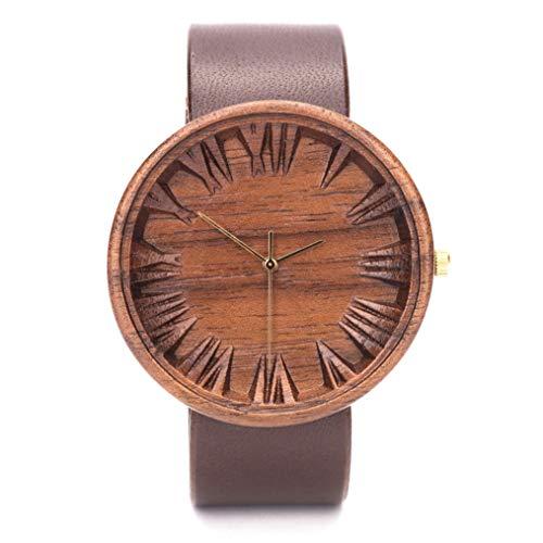 Holzkern Uhren für Herren | Holzuhr Männer | Holzkern Uhren | Armbanduhr Holzkern | Gefertigt aus Nachhaltig Angebautem Holz | Mens Wooden Watch by Ovi Watch