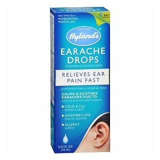 Hyland's Adults Earache Drops (Relieves Ear Pain Fast, 10ml)