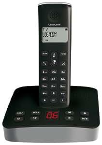 TELEPHONE DECT main libre répondeur compatible ADSL Box