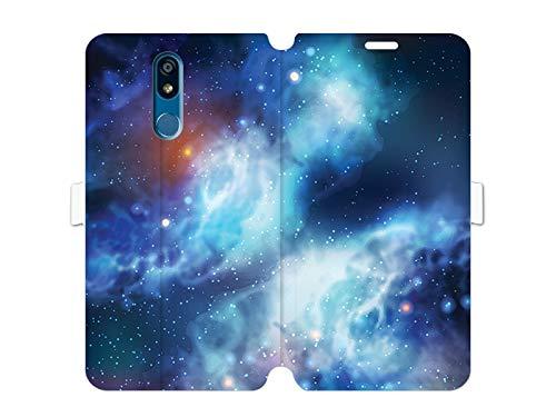 Hülle für LG K40 - Hülle Wallet Book Fantastic - Kosmos Handyhülle Schutzhülle Etui Case Cover Tasche für Handy