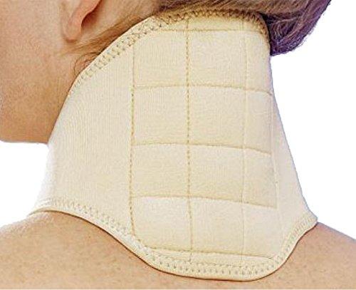 Nackenstütze Nackenwärmer Nackenbandage Nackenwirbel Bandage mit 12 Magneten