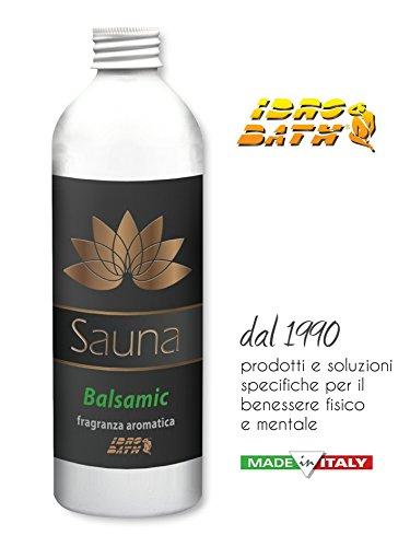 Fragancia Aromatica Balsamic Concentrado 250ml + vaso dosificador–Ambientadores para sauna–Envío immediata