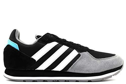 Adidas 8k, scarpe da fitness uomo, nero (negbás/ftwbla/gris 0), 46 eu