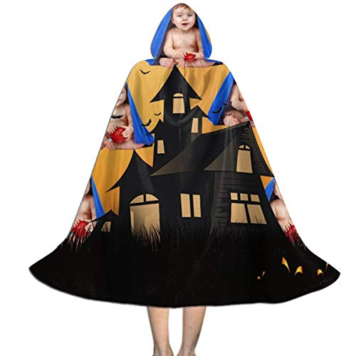 DIYBESTGIFT Personalisierbarer Fotoumhang für Halloween, für Kinder Gr. M, Schwarz/Gelb (Hausgemachte M&m Kostüm)