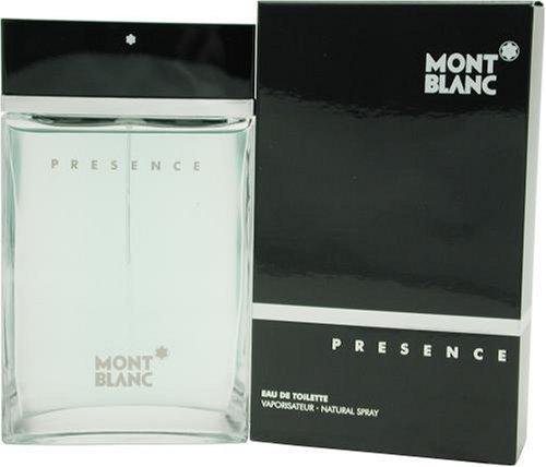 Mont Blanc Presence Men Eau de Toilette avec Vaporisateur – Femme, 1er Pack (1 x 50 ml)