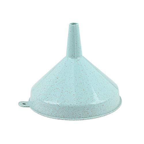 Silverdewi set di imbuti in plastica a bocca larga per il trasferimento rapido e pulito di liquidi, prodotti secchi, tra bottiglie, lattine e contenitori - blu