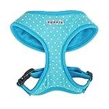 Puppia PAHA-AC301 Dotty Geschirr, M, blau