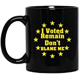 Photo de Anti Brexit Still European Pro EU Remain Referendum 11 oz. Black Mug par Vinsaco