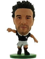 Soccerstarz - 400434 - Figurine - Sport - Le Pack De 1 Figure De L'équipe De France Contenant Mathieu Valbuena Dans Sa Tenue D'équipe De France À Domicile
