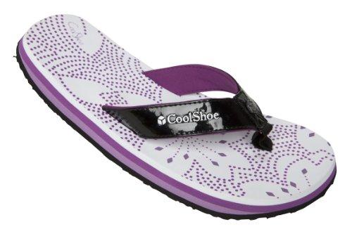 Cool Shoes Original EVE Angela white Flip Flops,Zehentrenner, Slaps Weiß