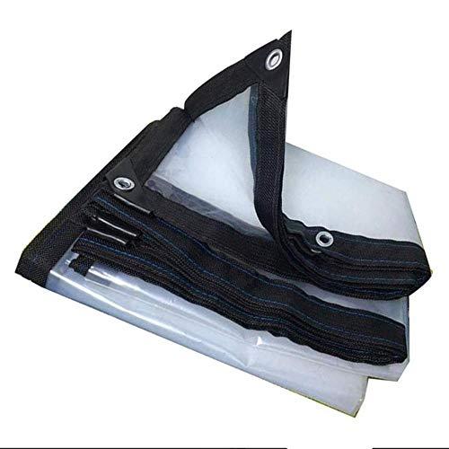 ZYYWAD Transparente schutzplane Kunststoff Regen Abdeckung außenschild abweiser sonnenschutzplane Balkon Regen 4 * 8m